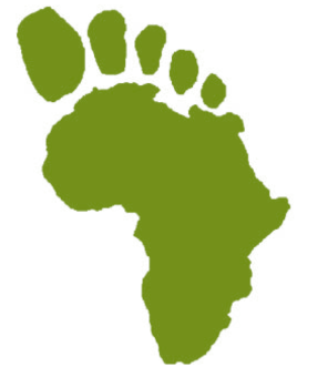 African footprint logo